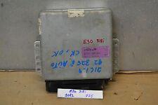 1983-1990 BMW 318i Engine Computer Unit ECU 0260200005 Module 25 10B1