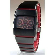 NIKE UNHOLEY RON ANALOG SPORT WATCH- BLACK/RED - WC0013-010