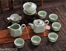 RuYao tea set Chinese kung fu tea set 11pcs tea pot tureen tea filter 6 tea cup