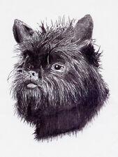 AFFENPINSCHER CHARMING DOG GREETINGS NOTE CARD BEAUTIFUL HEAD STUDY