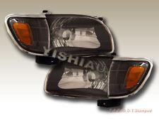 01 02 03 04 Toyota Tacoma Headlights + Corner JDM Black