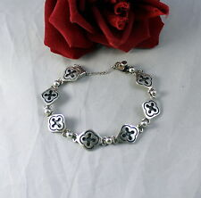 Sterling Silver Taxco Mexico 22g Bracelet Cat Rescue
