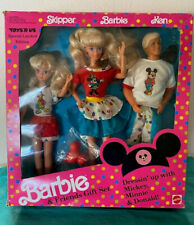 Barbie and Friends Dressin' Up with Mickey, Minnie & Donald Toys R Us 1991