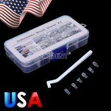 Dental Mini Orthodontic Bracket Tube Wire Bite Turbo Injection Mould Kit US
