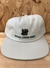 UNDEFEATED OFFICAL STRAPBACK OFF WHITE NEW WITH TAGS