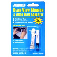 Abro Car Rear View Mirror Bonder -Glass & Metal Trim & Molding Glue Adhesive
