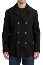 Nautica Mens Peacoat Black Size 3XL Double-Breasted Water Resistant $248 063