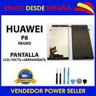 PANTALLA COMPLETA PARA HUAWEI P8 NEGRO LCD + TÁCTIL ENVÍO 24 HORAS