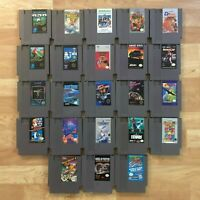 Lot of 23 Nintendo Entertainment System NES Games | Great Condition | Used | C08