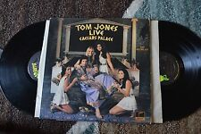 Tom Jones Live Caesars Palace Jazz 2 Records ups NM