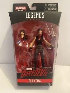"""Marvel Legends Netflix Elektra Man-Thing Wave No BAF Part Daredevil Figure 6"""""""