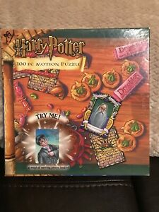 Harry Potter 100 Piece Motion Puzzle By Mattel USED