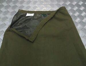 Genuine British Army Woman's Old Pattern No2 Khaki Green Uniform Skirt