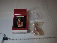 1996 Hallmark Christmas Ornament YOGI BEAR and BOO BOO Hanna Barbera picnic NOS