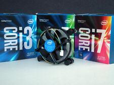 Intel Cooling Fan for i7 i5 i3 7th Gen Core Series Desktop PC's Skt LGA115X  New
