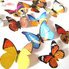 24pcs 3D Butterfly Colorful Art Decal Wall Stickers Home Room Decor