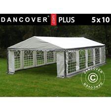 Dancover Tendone per Feste Plus 5x10m PE Grigio