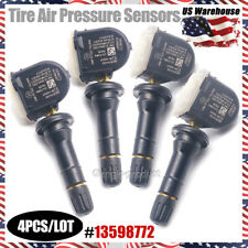4PCS TPMS 13598772 Fit for GM Chevy GMC Buick Tire Pressure MONITORING Sensors
