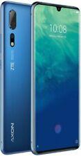 ZTE Axon 10 Pro 128 GB Blau Blue Ohne Simlock FHD+ 3D Curved-Display Dual-SIM