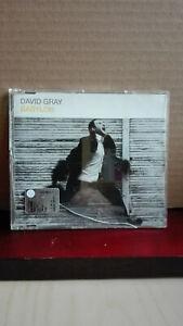 CDs    DAVID GRAY Babylon.         Warner Music  2000   CDs