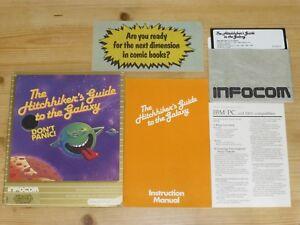 Hitchhiker's Guide to the Galaxy - Infocom - PC - Big Box