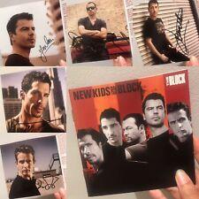 NKOTB Signed CD New Kids On The Block Autograph Jordan Joe Donnie Danny Jon