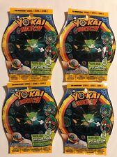 YO-KAI WATCH YO-MOTION SERIES 2 BLIND BAG FOUR 4 PACK LOT MEDAL YOKAI