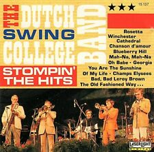 "THE DUTCH SWING COLLEGE BAND ""Stompin' The Hits"" LASERLIGHT 15137 [CD]"