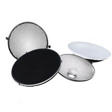 Photo Studio Flash Beauty Dish 42cm S type Honeycomb + White Diffuser  BT