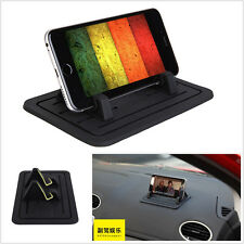 Black Silicon Pad Dash Cellphone Car Mount Holder For Phone iPhone Samsung New