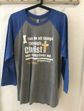 I CAN DO ALL THINGS THRU CHRIST T-SHIRT Christian SHIRTJESUS Religious Faith s4