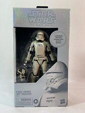 "Star Wars Black Series 6"" Carbonized First Order Jet Trooper NIB"