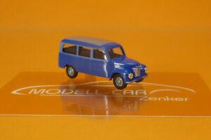 Busch 8684 IFA Framo V901/2 Bus blau/grau 1:120