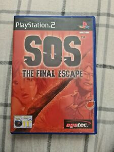 SOS: The Final Escape (ps2) (Case & Manuel only)