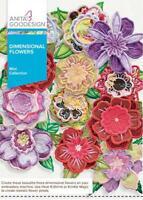 Dimensional Flowers Anita Goodesign Embroidery Machine Design CD NEW