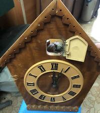 Soviet cuckoo clock  - USSR