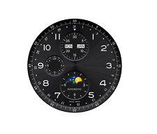 Model 4 ETA 7751 automatic movement dials with  indexes Zifferblatt - cadrans