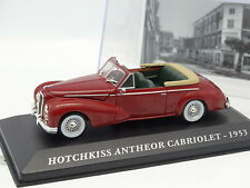 Ixo Presse 1/43 - Hotchkiss Antheor Cabriolet 1953 Rouge