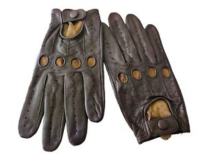 driving gloves genuine leather high quality