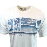 American Paradise Short T Shirt Mens Tee M L XL XXL Sleeve Graphic  NEWPORT BLUE