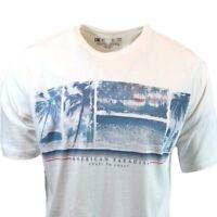 American Paradise Short T Shirt Mens Tee M L XL XXL Sleeve Graphic  NEWPORT BLUE