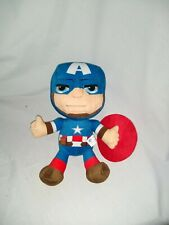"""12"""" cute soft the avengers captain america marvel whitehouse leisure soft toy"""
