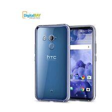 Custodia Cover Back Case Morbido 0.38mm TPU trasparente per HTC U11 Plus