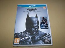 Batman: Arkham Origins (Nintendo Wii U, 2013) ** nuevo Y Sellado **