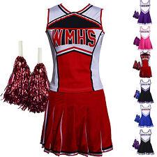 Mädchen Cheerleader Kostüm Uniform Cheerleading Cheer Leader Kostüm Verkleidung