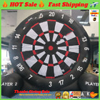 ✅✅new 13ft Inflatable Foot Dart Board Golf Game Soccer Kick With Air Blower Sale