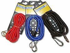 Bungi Cord Various Colors With Metal Clips on both ends of rope 8mmx1.5m