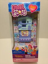 Pixel Stars Digital Dreamhouse Electronic Game Virtual Life Skyrocket