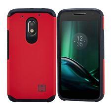 32nd Slim Armour Shockproof Case Cover Motorola PHONES Red Motorola Moto G4 Play