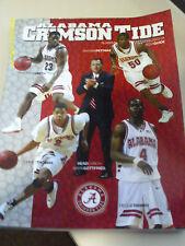 Alabama Crimson Tide Basketball 2003-04 Media Guide Mark Gottfried